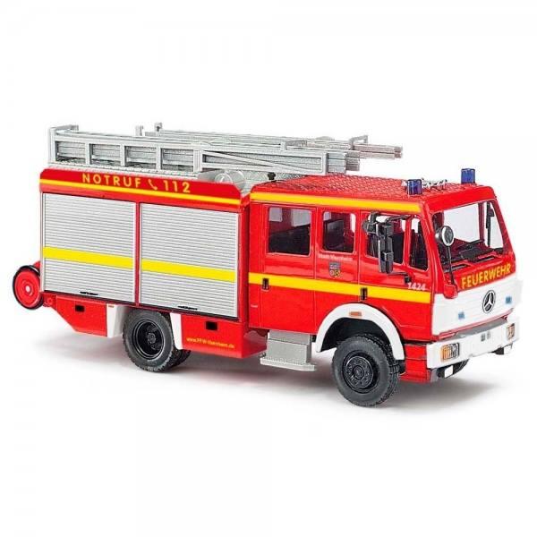 """43818 - Busch - Mercedes-Benz 1424 MK `94 LF16 """"Feuerwehr Viernheim"""""""