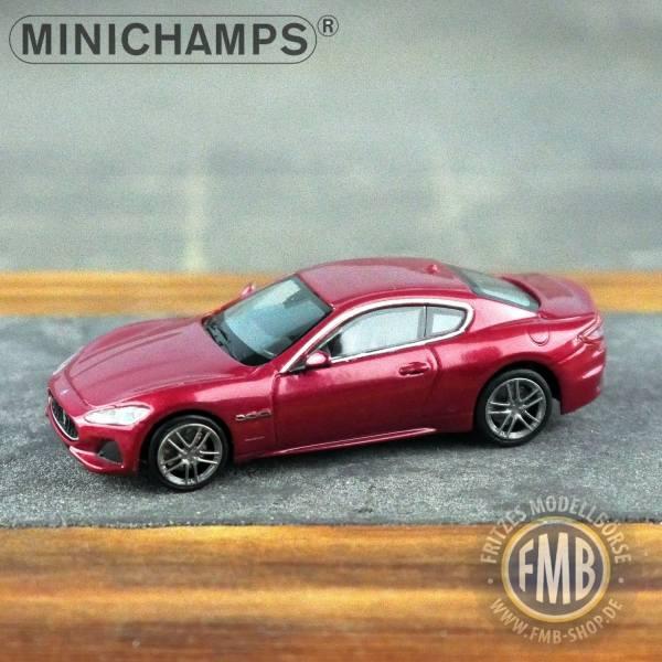 123122 - Minichamps - Maserati Granturismo (2018), rot metallic
