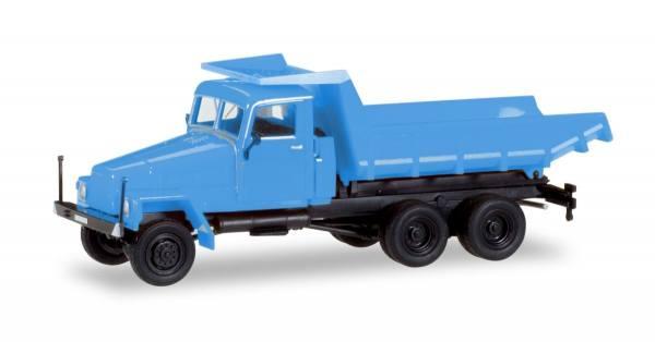 307581 - Herpa - IFA G5 Muldenkipper, blau