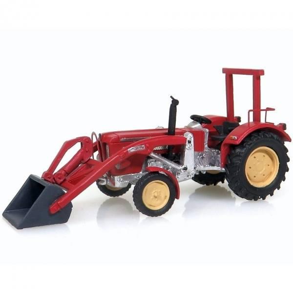 99056 - NPE - Schlüter S 650 Traktor mit Frontlader -rot-
