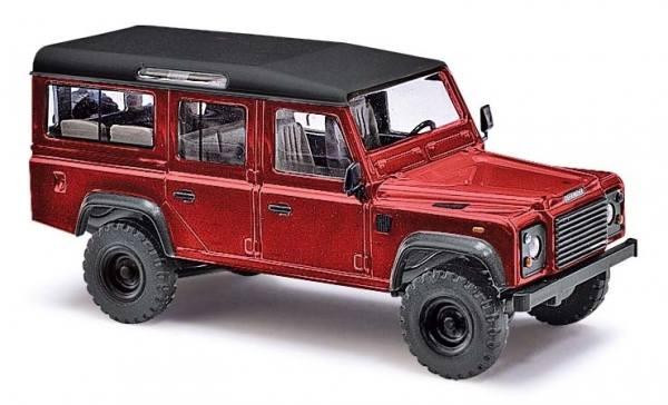 50353 - Busch - Land Rover Defender, metallic rot, Bj. 1983