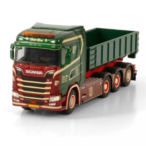 01-3415 - WSI - Scania S /CS20N mit Hakensystem und 15m³ Container Brdr. Olsen - DK -
