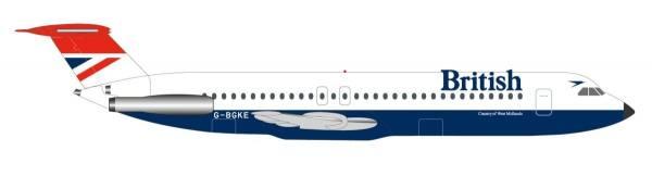 531733 - Herpa - British Airways  BAC 1-11-500 - 1:500