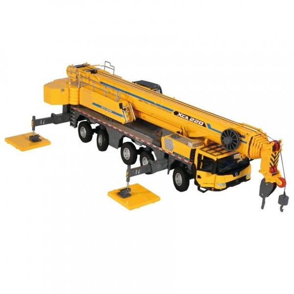 VAKF-0008 - XCMG XCA 220 Mobilkran, gelb