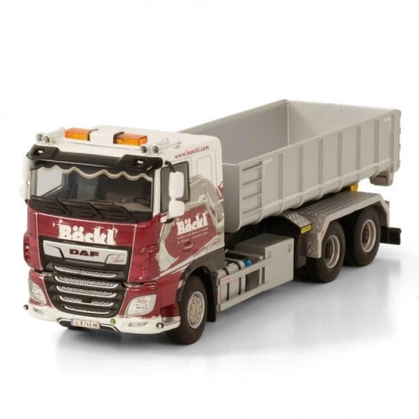 01-3528 - WSI - DAF XF 6x4 mit Hakensystem und Container 15m³ - Böckl - A -