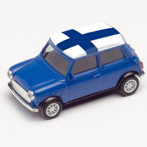 """420624 - Herpa - Mini Cooper, blau """"EM 2021 - Finnland"""""""