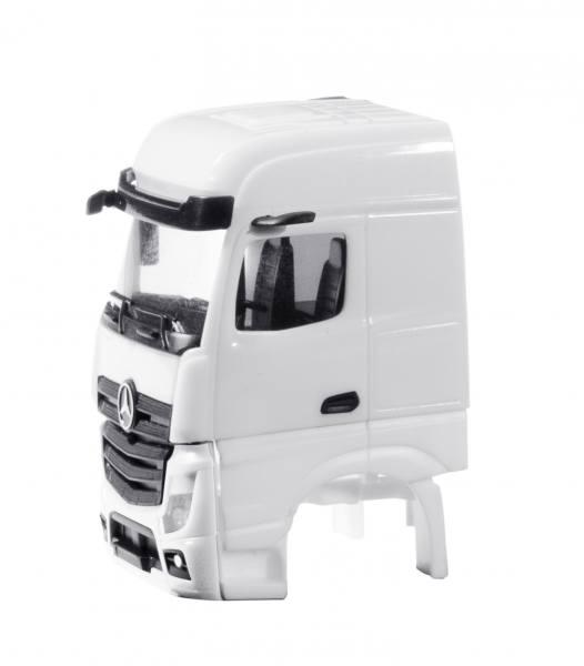 084994 - Herpa - TS Mercedes-Benz Actros `18 BigSpace ohne WLB und Grill sep., weiß - 2 Stück