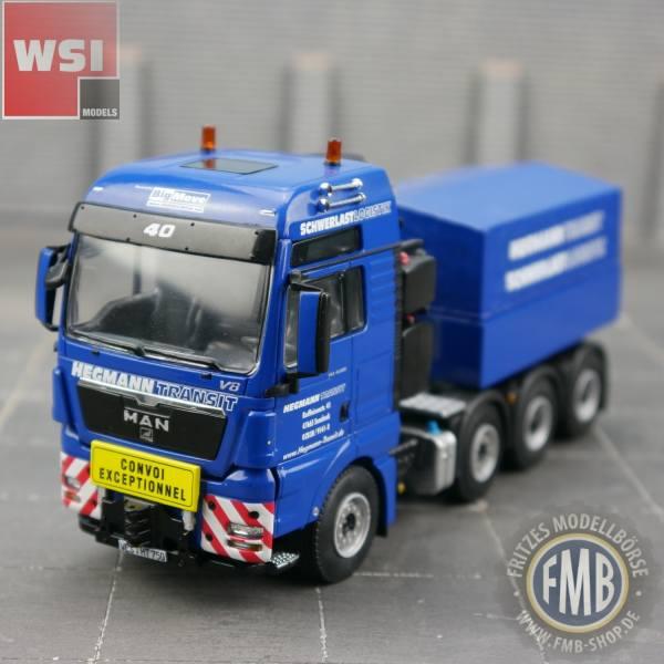 9648 - WSI - MAN TGX 4achs Zugmaschine mit Pritsche - Hegmann - Big Move - D -