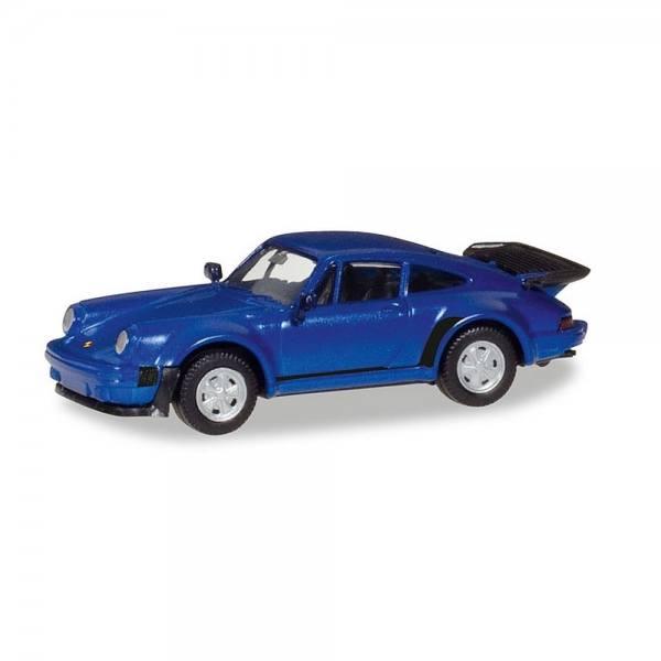 030601-002 - Herpa - Porsche 911 Turbo, blaumetallic