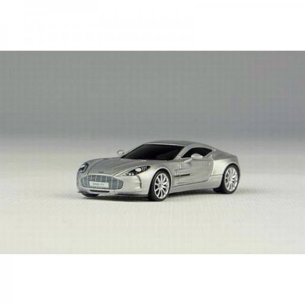 H0-05 - AvanStyle - Aston Martin One:77 Supersportwagen -silber-