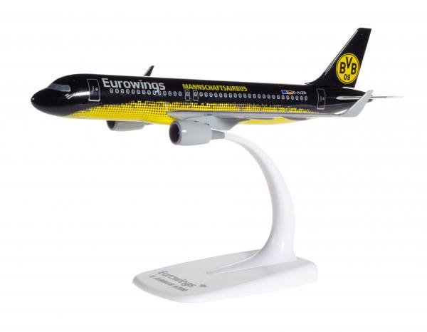 "611312 - Herpa - Eurowings  Airbus A320  ""BVB Dortmund Mannschaftsairbus"" - 1:200"