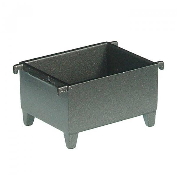 506/13 - NZG - Materialcontainer mit Anschlagketten, schwarz