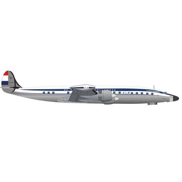 "571616 - Herpa Wings - KLM Lockheed L-1049G Super Constellation ""Negaton"""