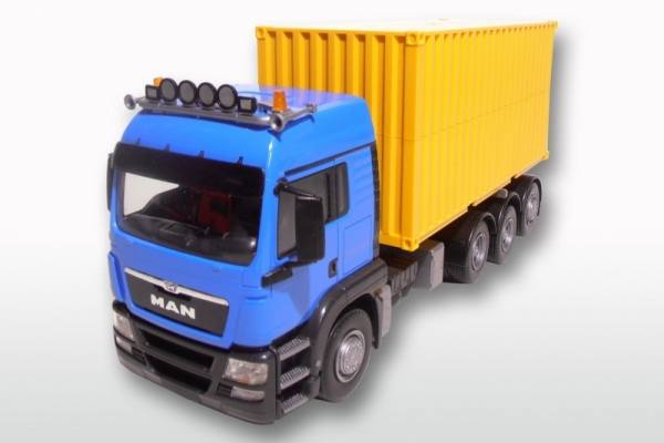 "83794 - MAN TGS mit 20"" Abrollcontainer 1:25"