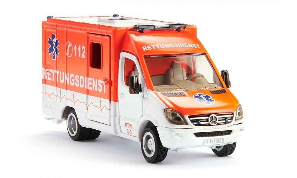 Rettungsdienste Feuerwehr DE 05 Emergency services weiss white 1:87 Decal