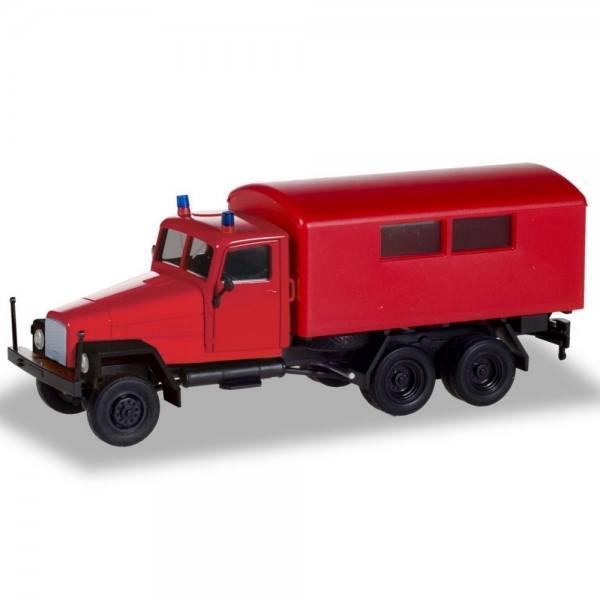 """308731 - Herpa - IFA G5 Koffer-LKW """"Feuerwehr"""" DDR"""