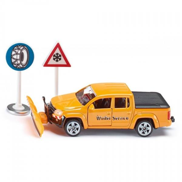 2546 - Siku - VW Amarok, orange - Winterdienst