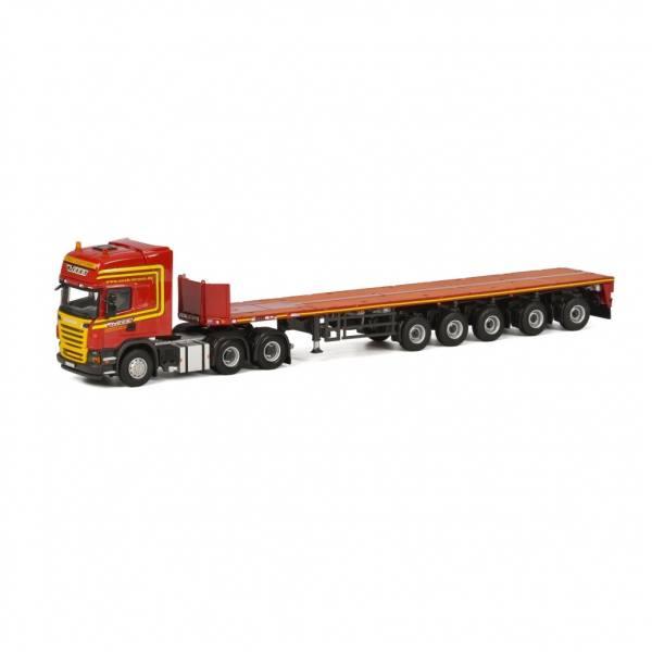 01-1634 - WSI - Scania R 6 6x4 mit Ballasttrailer 6 achs - Neeb-