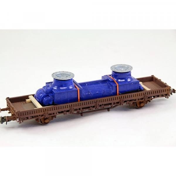 H01325 - Bauer - Gasabscheider, blau