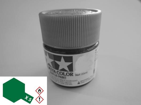 81005 - Tamiya - Acrylfarbe 23ml, grün glänzend X-5