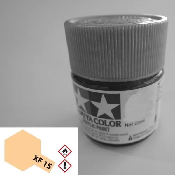 81315 - Tamiya - Acrylfarbe 23ml, fleischfarbend matt XF-15