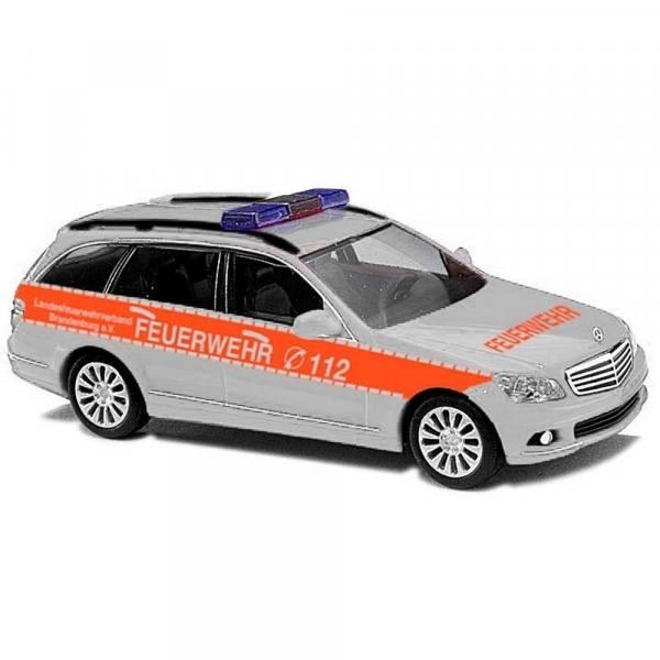 """43667 - Busch - Mercedes-Benz C-Klasse T-Modell Kommandowagen """"Feuerwehr"""""""