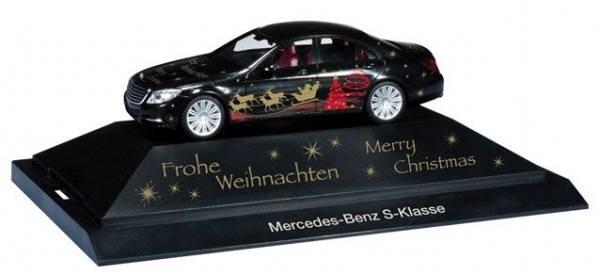 101905 - Herpa - Mercedes-Benz S-Klasse -Herpa Weihnachts-PKW 2013-  PC