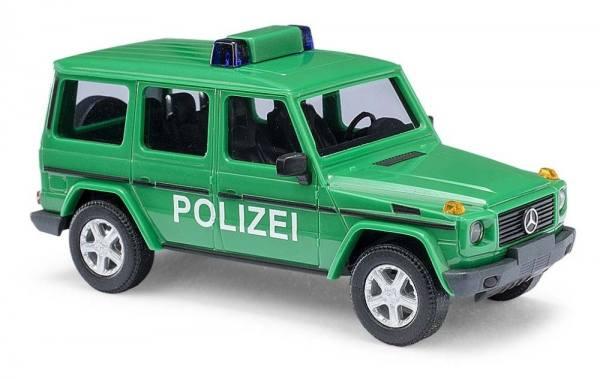 """51410 - Busch - Mercedes-Benz G-Klasse (W463) 1990 """"Polizei"""" -minzgrün-"""