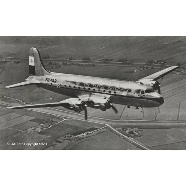"559799 - Herpa - KLM Douglas DC-4 Skymaster ""Rotterdam"""