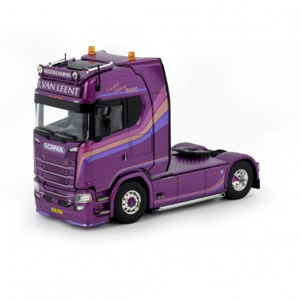 80938 - Tekno - Scania S650 HL 4x2 2achs Zugmaschine - Jarno van Leent Transport - NL -