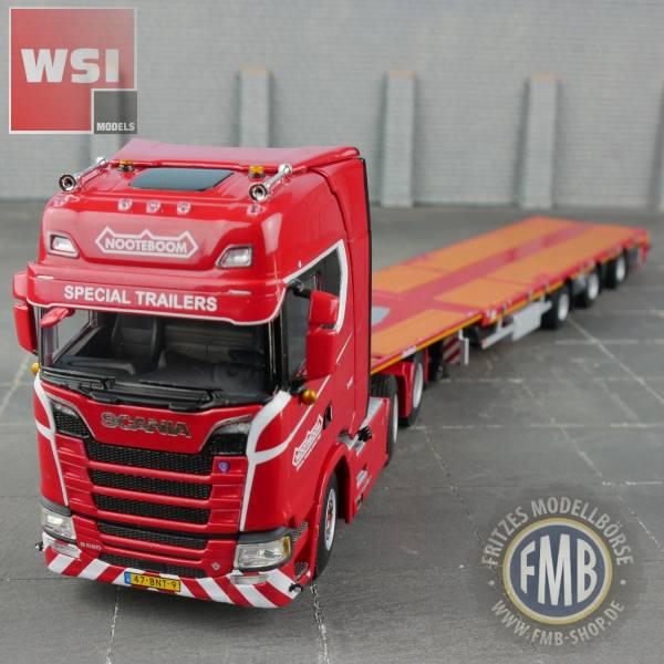 5661640 - WSI - Scania CS Highline 6x2 mit 3achs Nooteboom Megatrailer - redline