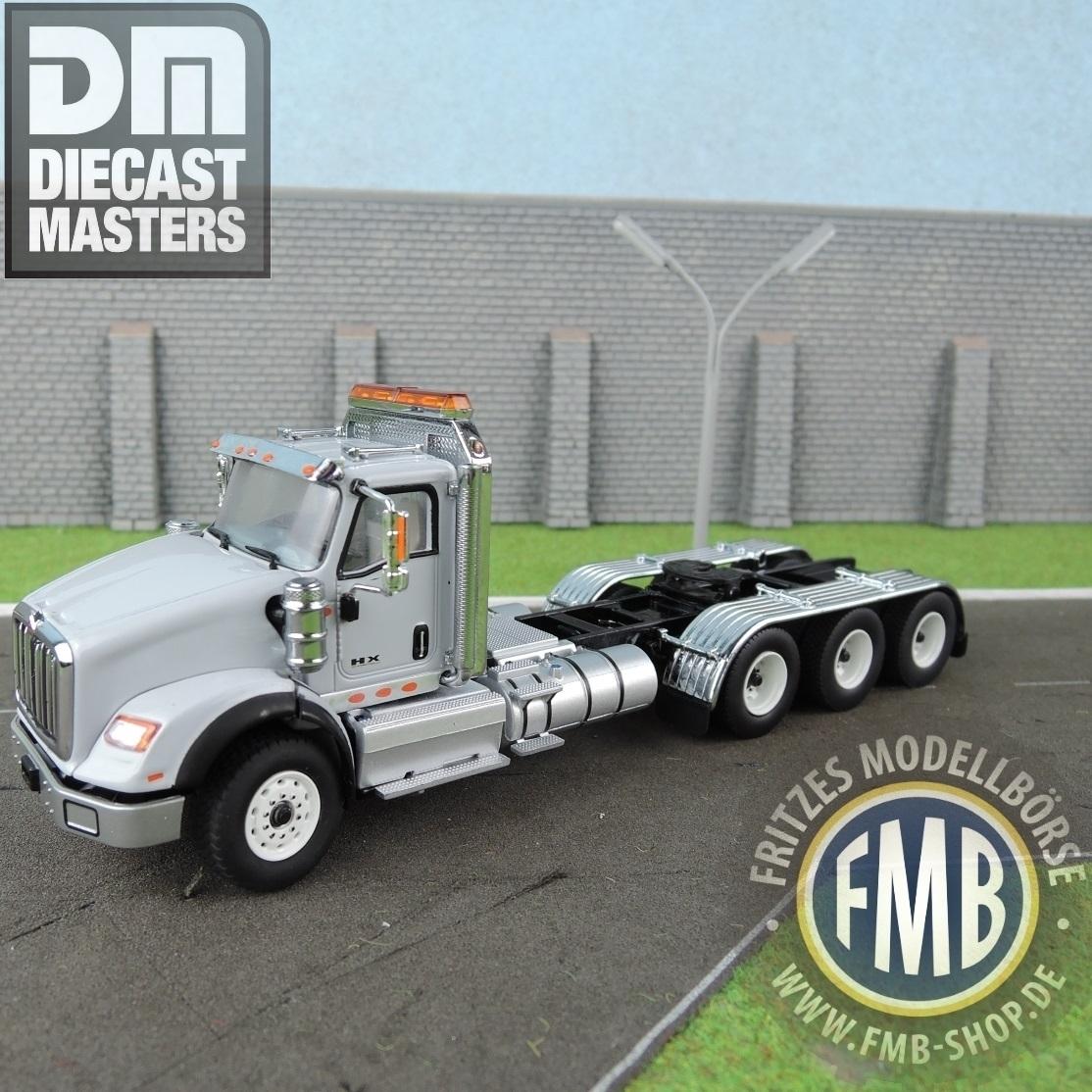 71011 - Diecast Masters - International HX620 4axle truck tractor, light  grey