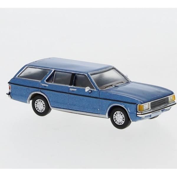 870035 - PCX87 - Ford Granada Turnier `74 Mark I, hellblau metallic