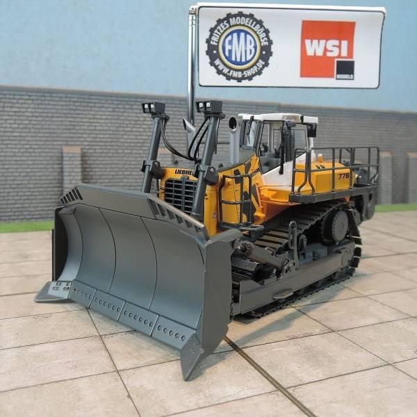 64-2000 - WSI - Liebherr Planierraupe PR 776 Litronic, gelb