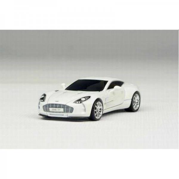 H0-06 - AvanStyle - Aston Martin One: 77 Supersportwagen -weiß-