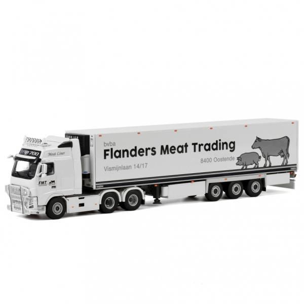 01-2043 WSI 1:50 VOLVO FH PMJ Food REEFER TRAILER Netherlands