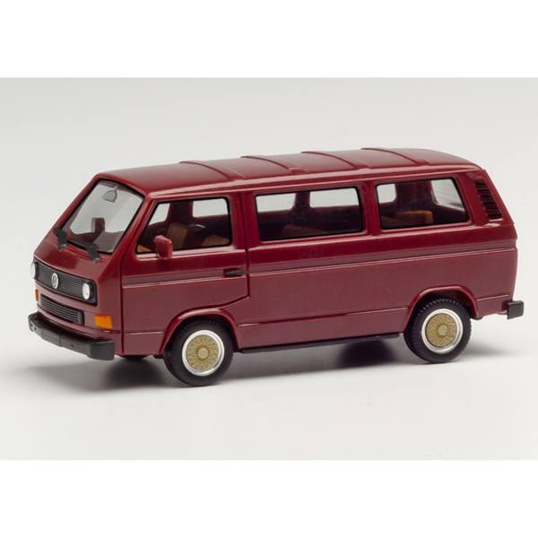 420914 - Herpa - Volkswagen VW T3 Bus mit BBS-Felgen, weinrot