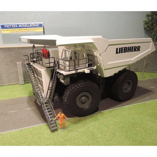 2766/02 - Conrad - Liebherr T 284 Muldenkipper / Dumper, weiß