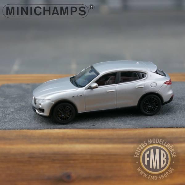 123200 - Minichamps - Maserati Levante (2018), silber