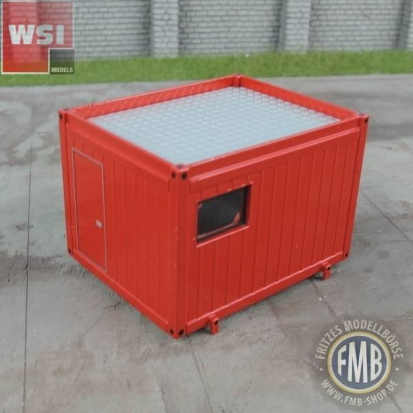 04-1009  - WSI -  Ballast-Container, rot