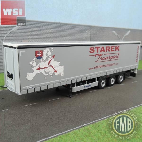 01-2382 - WSI - 3achs Krone Gardinenplanenauflieger - Starek - SLO -