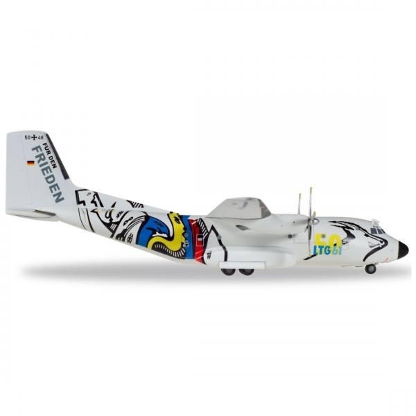 """559201 - Herpa - Luftwaffe Transall C-160 """"50 Jahre LTG 61"""""""