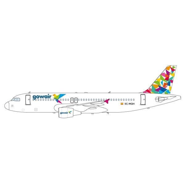 """612135 - Herpa - Gowair  Airbus A320 """"EC-MQH"""" - 1:200"""
