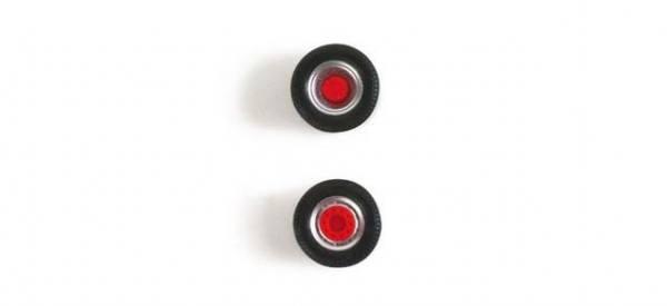 052986 - Herpa - Radsätze für 5 Zugmaschinen - 2-teilig silber/rot