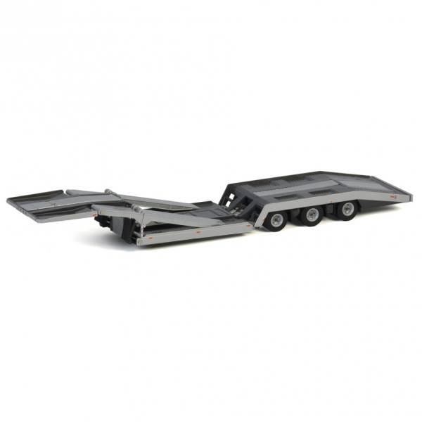 04-2114 - WSI - 3achs Trucktransporter - Silber -