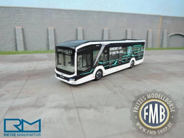 """76301 - Rietze - MAN Lion''s City E  Elektro-Stadtbus 2-türig """"IAA 2018"""""""