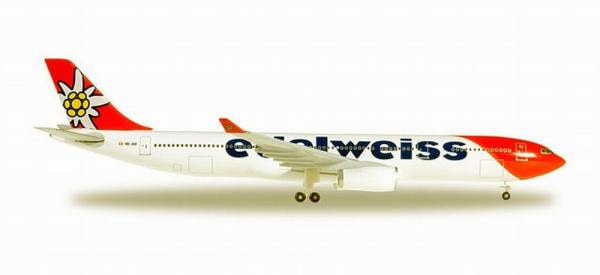 528870 - Herpa - Edelweiss Air  Airbus A330-300 new 2016 colors  - 1:500