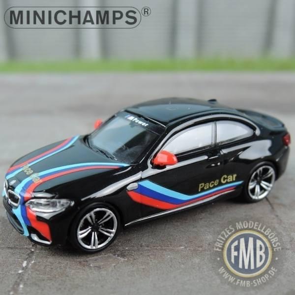 """027005 - Minichamps - BMW M2 (2016), schwarz """"Pace Car"""""""