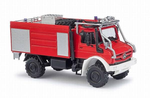 51051 - Busch - Mercedes-Benz Unimog U5023 Ziegler TLF4000 Waldbrandbekämpfung  -Feuerwehr-