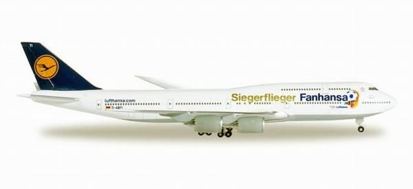 """527187 - Herpa - Lufthansa Boeing 747-8 Intercontinental """"Siegerflieger"""" - 1:500"""